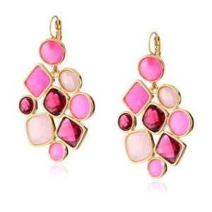 Kate Spade Microfacet Stone Cluster Earrings